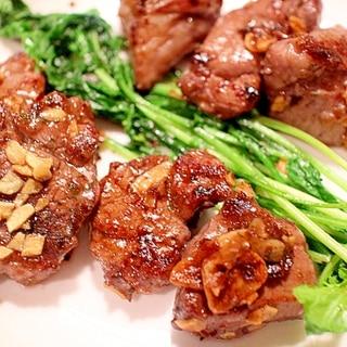 【深鍋で簡単】ラム肉のサイコロステーキ