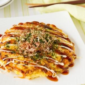 豆腐のお好み焼き Tofu Okonomiyaki