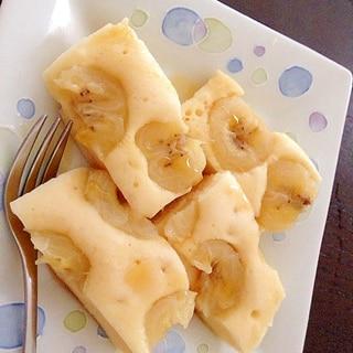 シリコンスチーマーで☆メープルバナナ蒸しパン