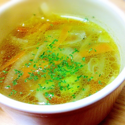 簡単!コンソメスープ