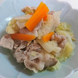 簡単♪豚肉と野菜の塩こうじ蒸し