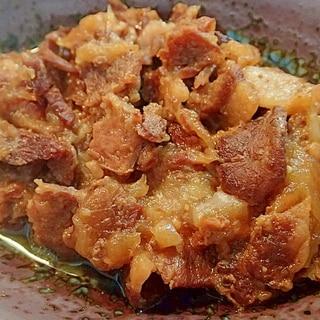 圧力鍋で 豚肉と玉ねぎのとろとろ煮♪
