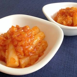 チリソース煮☆ピリ辛トッポギ