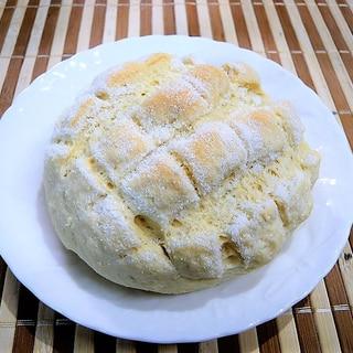 卵・牛乳なし、なんちゃってメロンパン