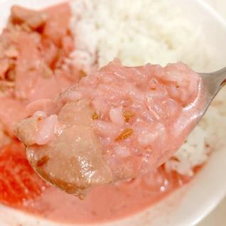 <イベントレシピ:ひな祭り>子供も喜ぶピンクカレー