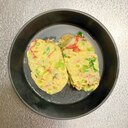 お弁当おかず★三つ葉とカニカマの卵焼き