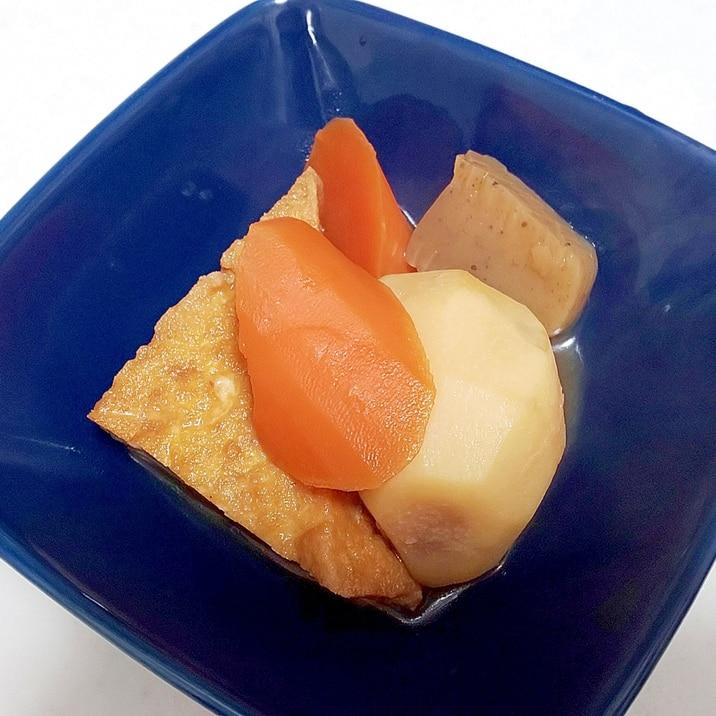 お出汁の効いた里芋たちの煮物++