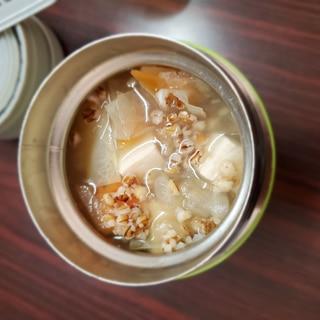 ダイシモチスープジャー(豆腐、大根、人参)