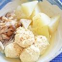 鶏だんごと大根の簡単煮物