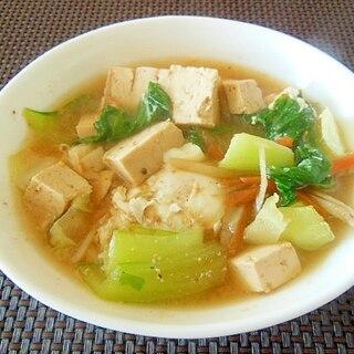 韓国キムチ入り豆腐鍋♪