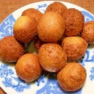 サクッとモチッHK粉で☆豆腐ドーナツ