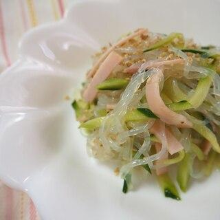 【低糖質】りんご酢使用!糸こんにゃくで中華風酢の物
