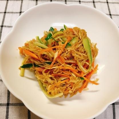 メイン料理に合う切り干し大根レシピ探してたら凄くイイの発見!で作ったら美味しかったです❗️