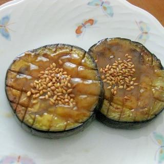 簡単で美味しい!米なすの味噌田楽♪