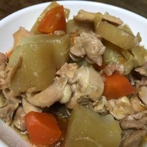 ご飯が進む☆鶏もも肉と大根の照り煮