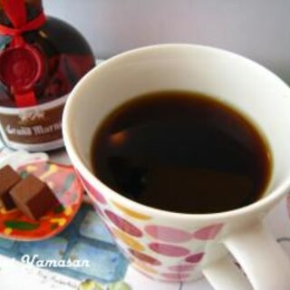 """寒い冬に♥""""大人のオレンジコーヒー"""""""