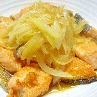 鮭南蛮 焼肉のタレで簡単南蛮タレ