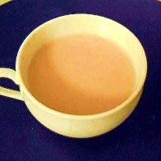 烏龍茶&クリープで甘くて美味しいホットドリンク♪