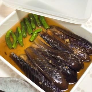 母の日にも上品な♡茄子とししとうの煮浸し♩作り置き