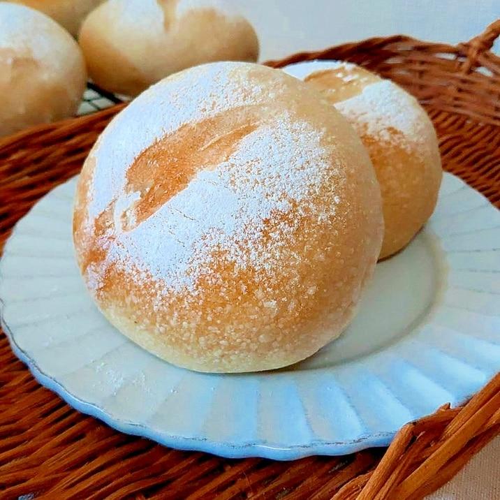 自家製レーズン酵母で作る シンプルなテーブルパン