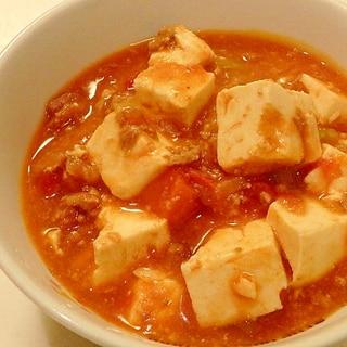 ミートソースで★簡単★洋風麻婆豆腐