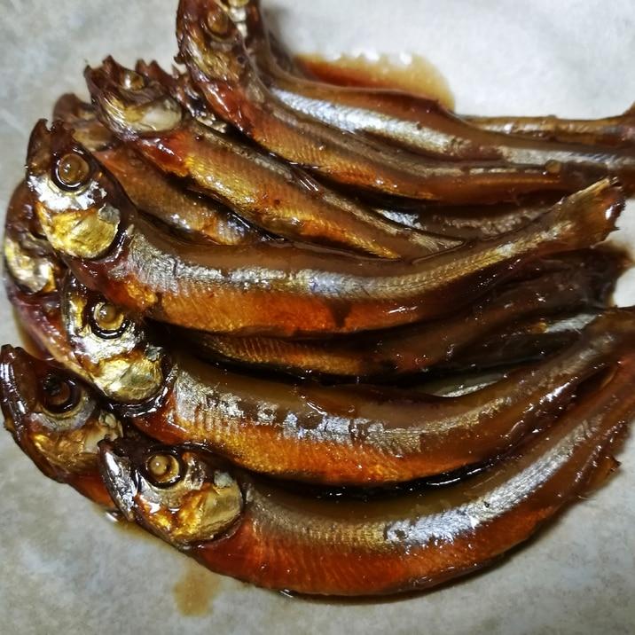 ワカサギの甘露煮
