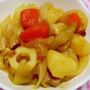 スパイシーな煮物 ジャガイモのカレー煮