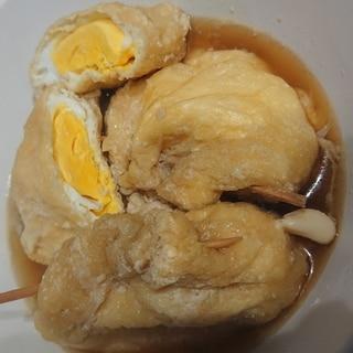 めちゃ簡単!きんちゃく煮卵✨