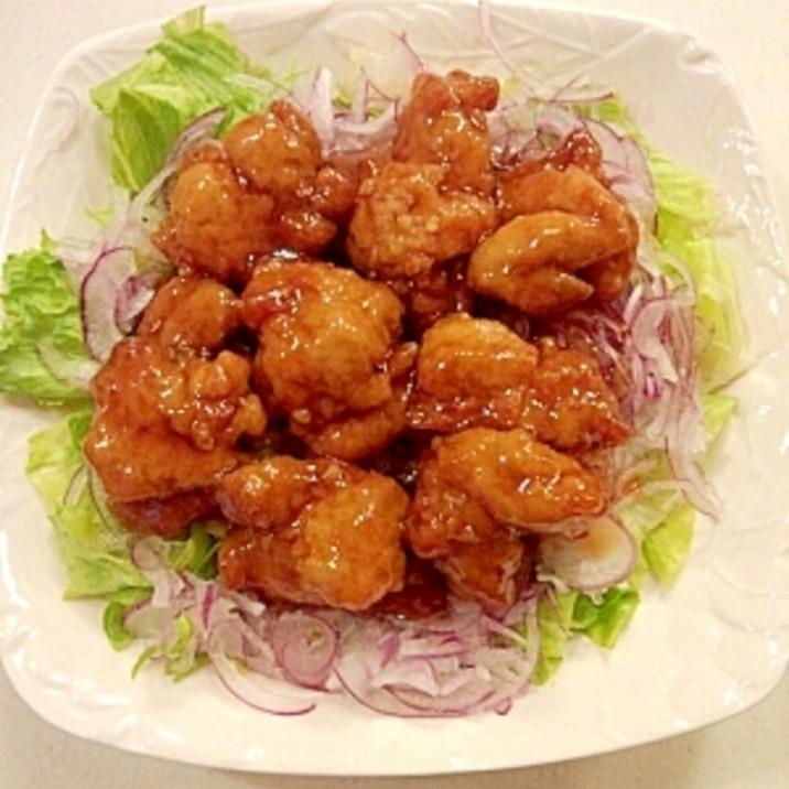 鶏の唐揚げ☆甘酢あんかけ