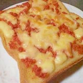 鮭チーズトースト