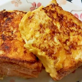 ホットプレート!バターでフレンチトースト