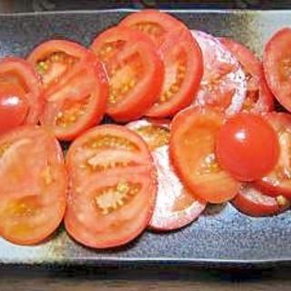 居酒屋の味!トマトスライス