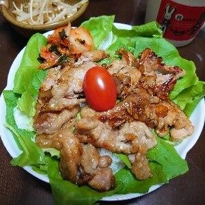 カリカリ豚の甘酢丼~夏バテ防止に酢をたっぷりね~