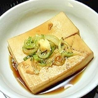 超簡単!照り焼き豆腐