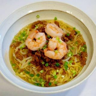 台湾名物を我が家で!タンツーメン(担仔麺)