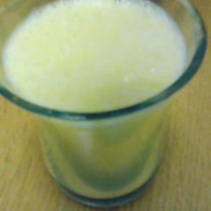 バナナとパイナップルのジュース
