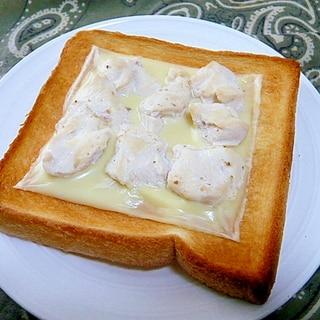 【うま塩】ささみチーズトースト