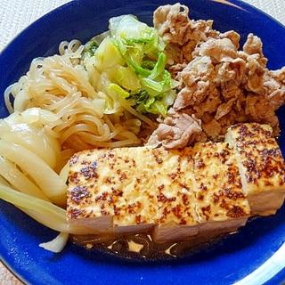 フライパンで◎ホッとする味の肉豆腐