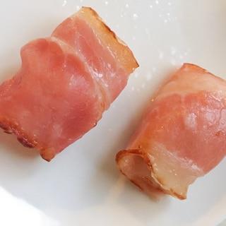 お弁当に♪ホタテベーコン★ベーコンは万能〜2