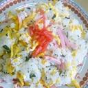 ♥ 広島菜の炊き込みわかめで! 簡単チラシ寿司 ♥