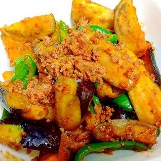 夏野菜のハリッサ炒め++
