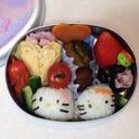 小さめキティーちゃん弁当