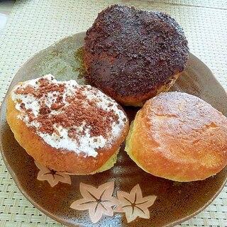 ホットケーキミックスDe簡単☆カリふわんドーナツ