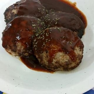 ハンバーグステーキ◇豚肉で◇