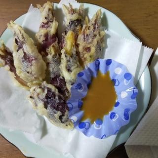 みょうがの天ぷら 酢味噌