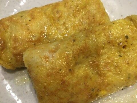 カレー風味の卵焼き