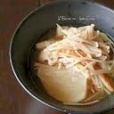 かぶのエノキ煮