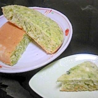 炊飯器DEブロッコリーチーズパン