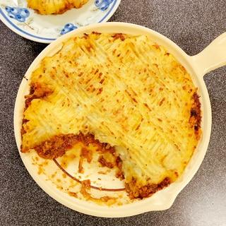 ミートソース×マッシュポテト★コテージパイ