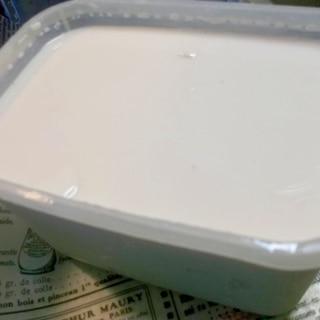 糖質制限★手作り 無糖豆乳ヨーグルト
